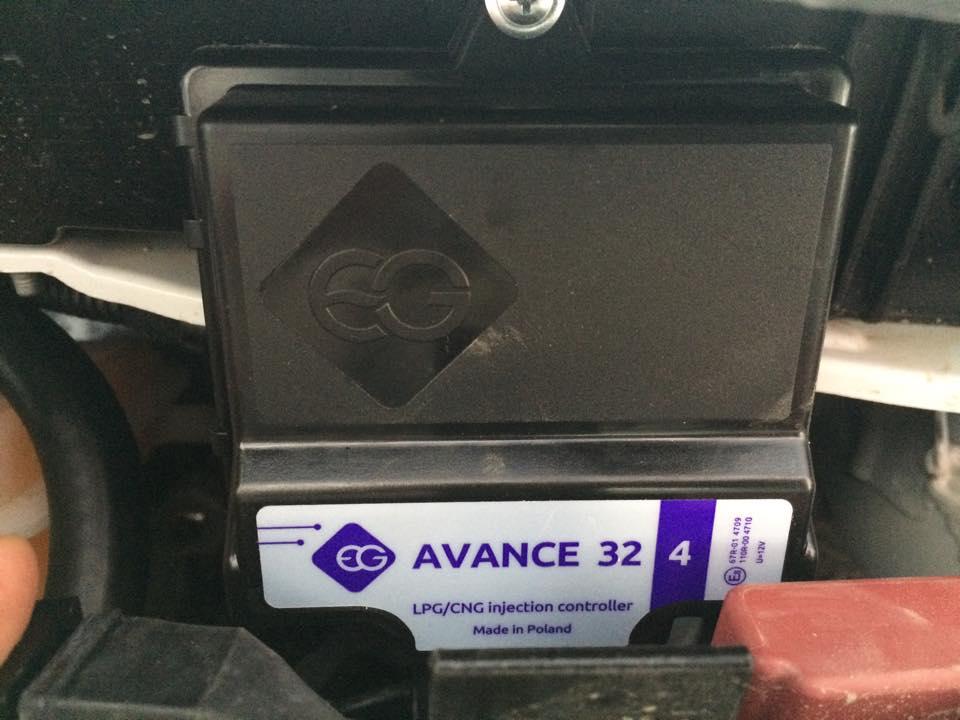 Контроллер (газовый компьютер) AVANCE на Кобальт от ГБО 4-го поколения