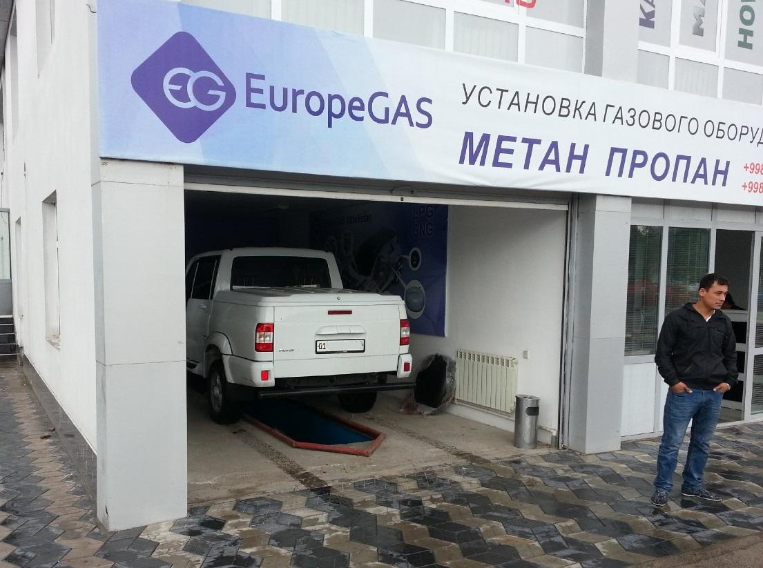 УАЗ Патриот перед установкой в AMV Gaz Servis